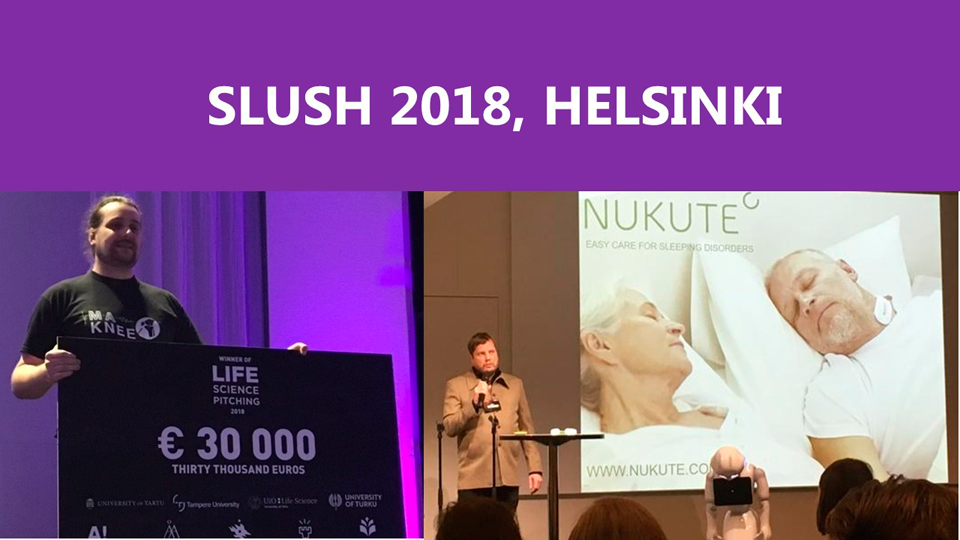 THREE PITCHING AWARDS FOR OULU AT SLUSH 2018, NUKUTE WON!